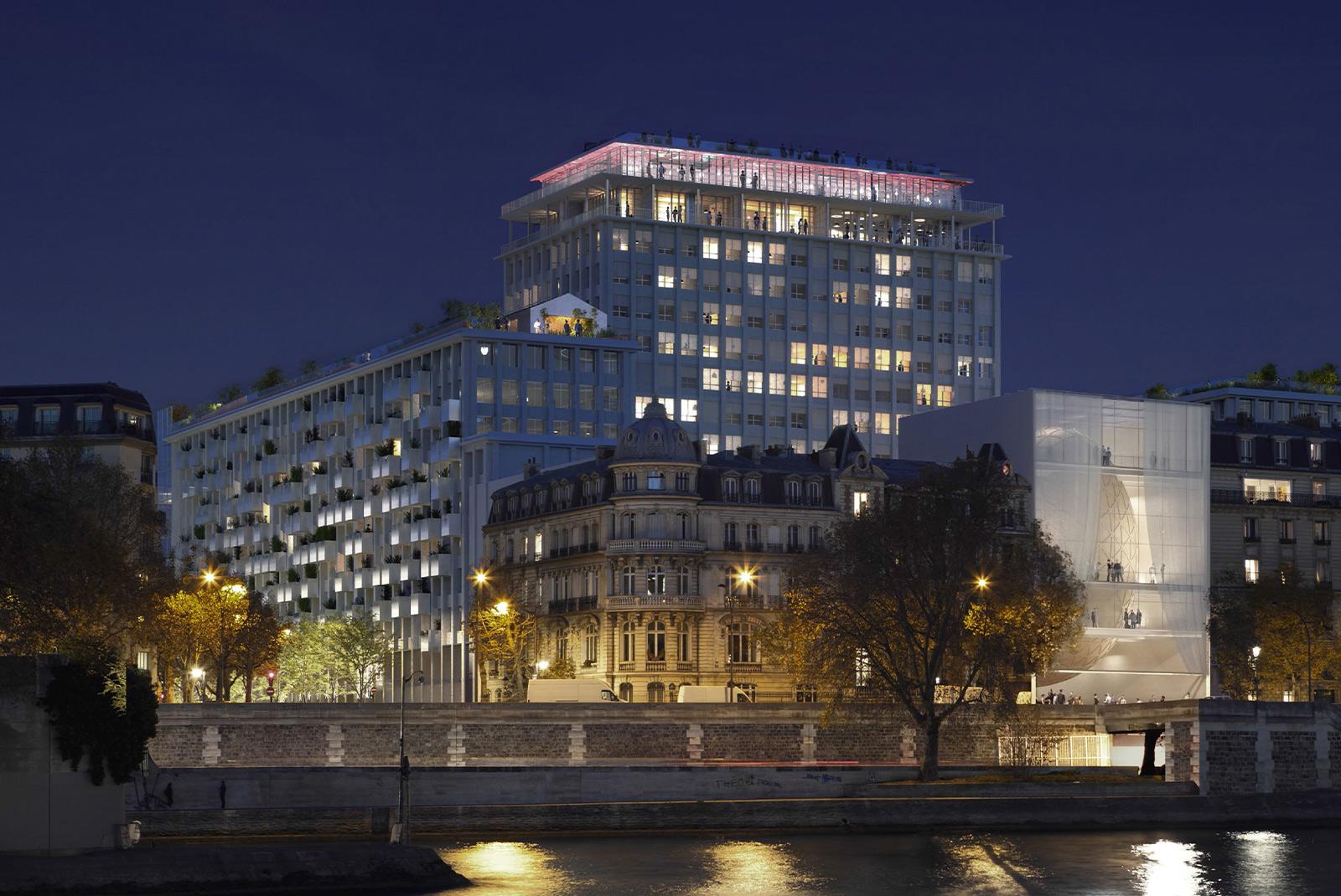 Parimien, Paris (75), SCAU / Shigeru Ban & Jean de Gastines / MU Architecture, 40000m²