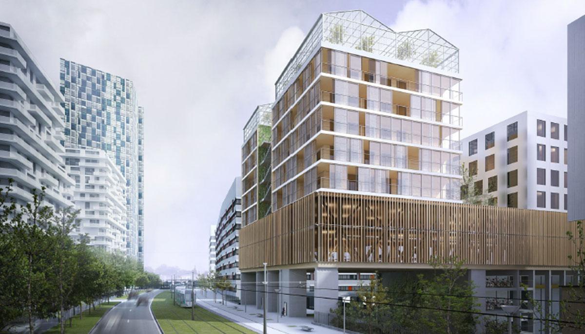 La frégate, Paris (75), LIPSKY + ROLLET, 11500 m²