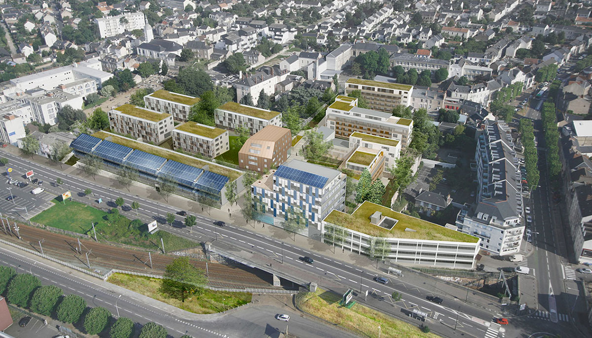 Armor, Nantes (44), Atelier Grether / Bouillaud & Donnadieu / Vincent Cornu Phytolab, 22 500 m²